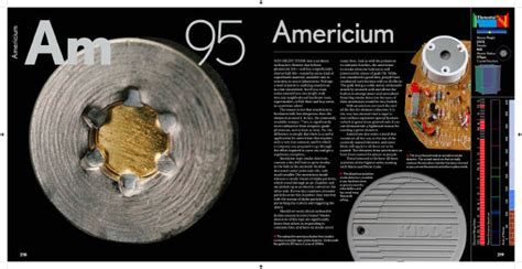 Americium in The Elements by Theodore Gray