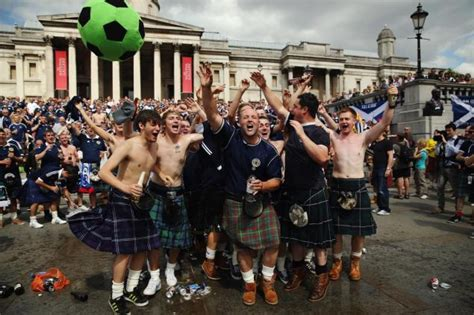 Scottish Suspects Arrested over England Fan Clash