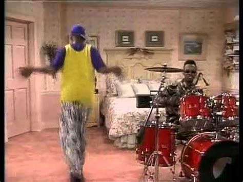 Fresh Prince of Bel Air, Jazzy Jeff on Drums Dance NBC