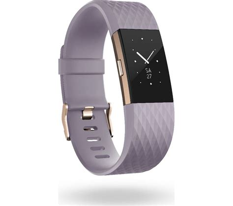 Buy FITBIT Charge 2 - Lavender & Rose Gold, Large | Free