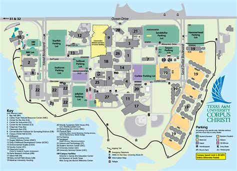 Southwestern Michigan College Campus Map | Time Zones Map