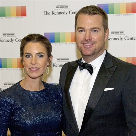 Chris O'Donnell and Caroline Fentress - Celebrities Who've