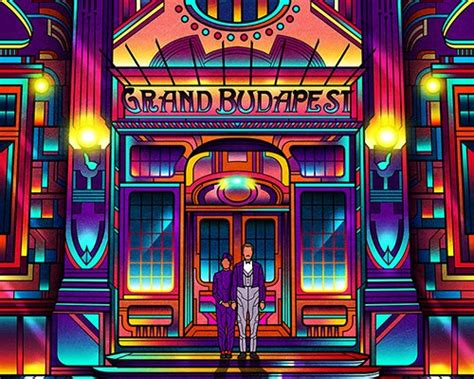 neon film posters present cult classics from the