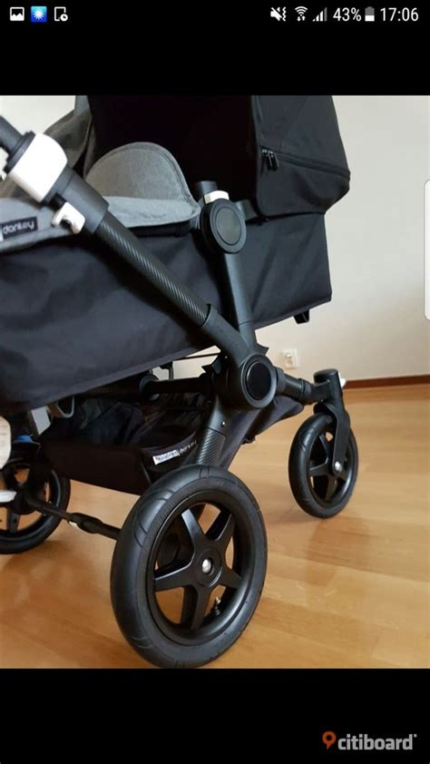 Bugaboo donkey duo carbon -15 - Stockholm - citiboard