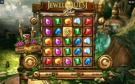 Jewel Quest slot review - powered by Old Skool Studios
