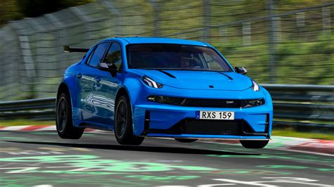 News - Lynk & Co 03 Cyan Concept Smashes 'Green Hell' Record