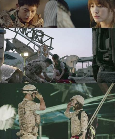 """Watch: """"Descendants of the Sun"""" Releases Its Heart"""