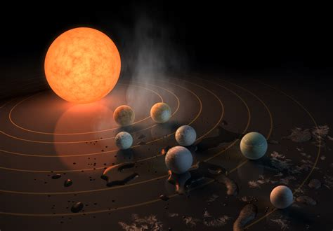 Seven New Chances for Life in Space, Just 40 Light-Years