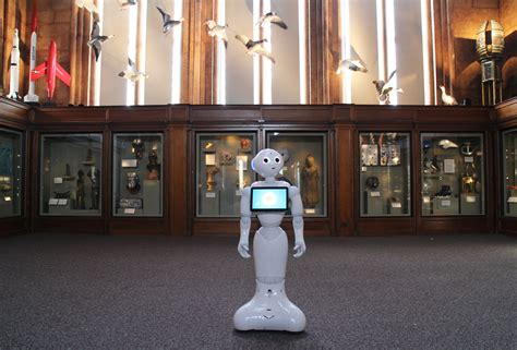 The Robots Are Coming (for Your Docents): Meet Pepper, the