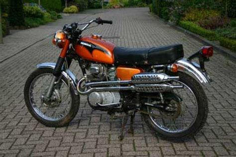 1971 Honda CL350 Classic Motorcycle Pictures