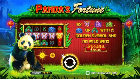 Play Panda's Fortune Slot Here | 10 Free Spins No Deposit