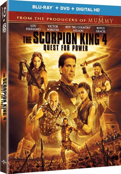 The Scorpion King 4: Quest for Power | On DVD | Movie