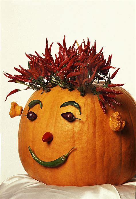 Chile Expert Pairs Halloween Pumpkins with Peppers