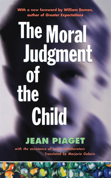 The Moral Judgement of the Child | Book by Jean Piaget