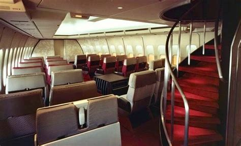 United 747-100 First Class Cabin, 1970s | Aircraft