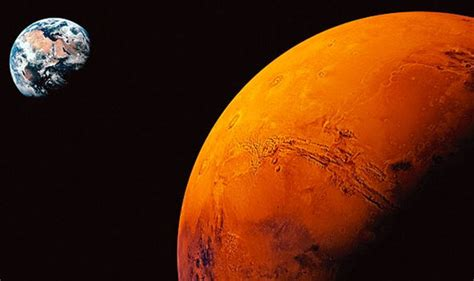 Nasa finds WATER on Mars: Red Planet once had 1-mile deep