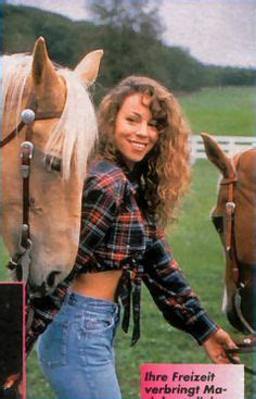 mariah at her old ranch she shared with tommy mottola x