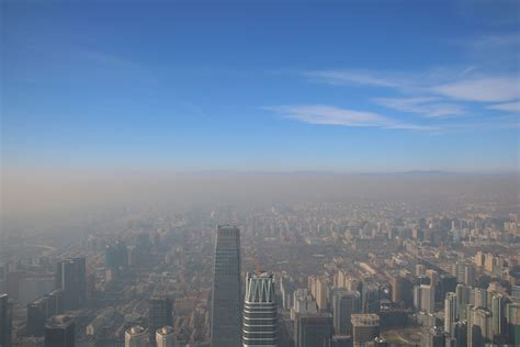 Beijing Issues Red Smog Alert As Toxic Air Pollution
