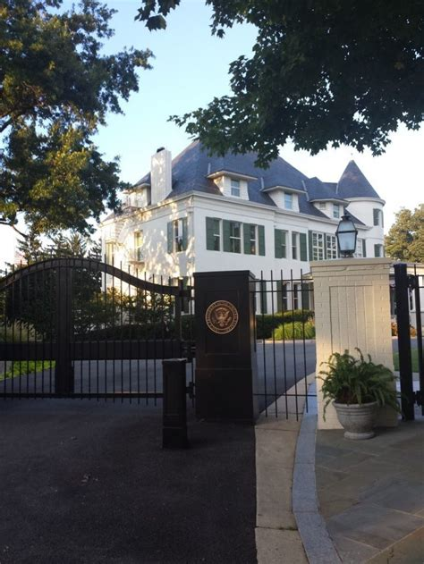 The Vice President's Residence - Number One Observatory Circle