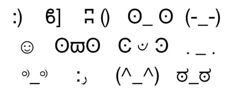 46 Smileys You've Probably Never Used