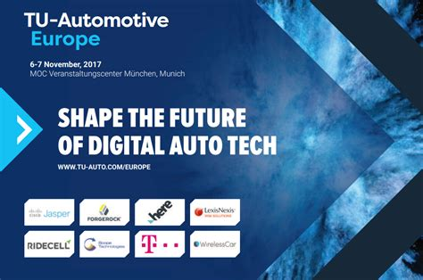Present your auto tech startup at the TU-Automotive Europe