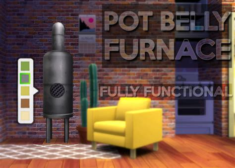 GOHLIAD POT BELLY FURNACE – FULLY FUNCTIONAL FURNACE