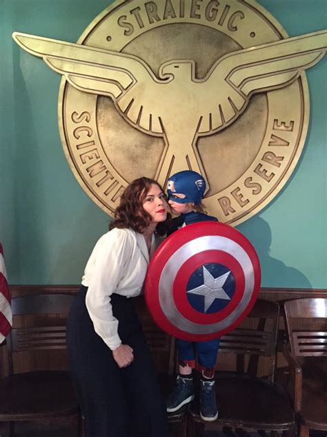 The Most Adorable Captain America Photo You've Ever Seen