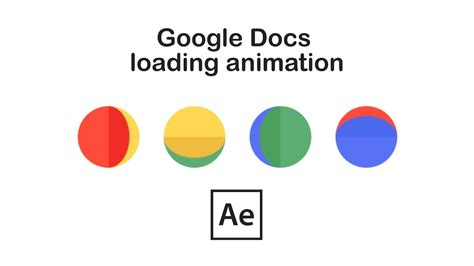 Google Docs animation in After Effects - YouTube