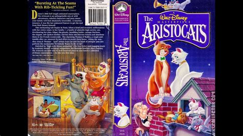 Opening to The Aristocats 1996 VHS - YouTube