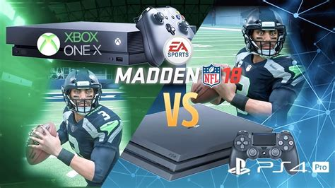 Comparing Madden 18's Graphics On XBox One X vs