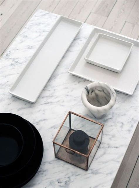 30 Refined Marble Furniture Pieces And Décor Objects For