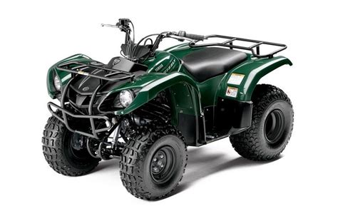 2013 Yamaha Grizzly 125 Automatic Review - Top Speed