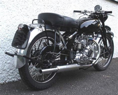 1950 Vincent Rapide Classic Motorcycle Pictures