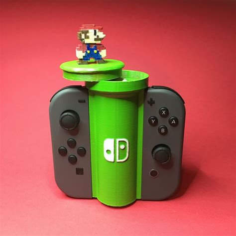 Check out this amazing 3D printed Joy-Con holder