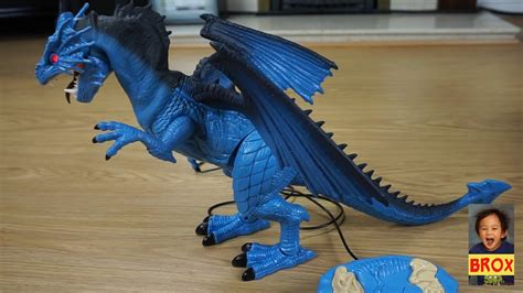 Mighty Megasaur Blue Dragon - Remote controlled - Playtime