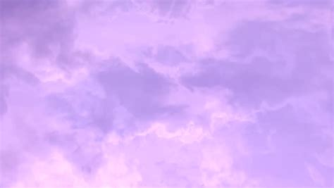 Pink Evening Rain Clouds, Time Stock Footage Video (100%