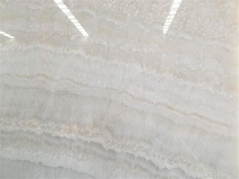 Vanilla White Onyx Marble Slab Tile Manufacturers and