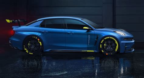 Behold The Cyan Racing Lynk & Co 2019 TCR Racer, 500PS