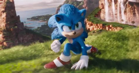 Watch the Redesigned Sonic the Hedgehog Debut in New Movie