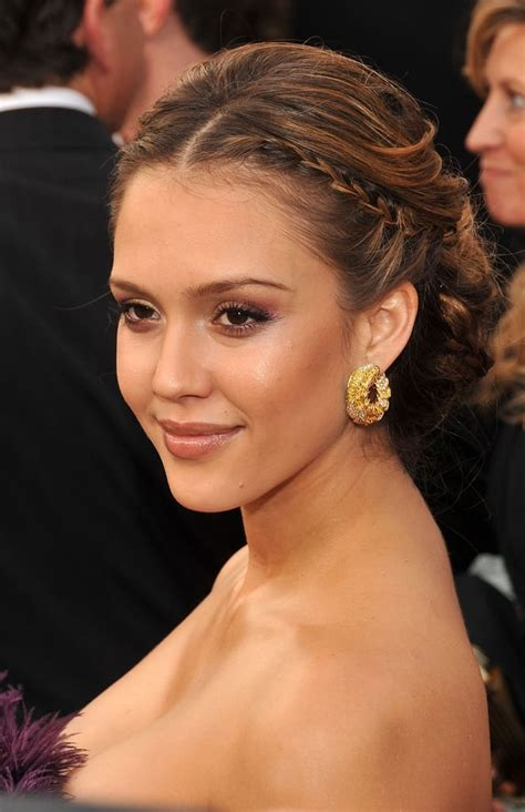 Jessica Alba, 2008 | Best Hair From the Oscars Red Carpet