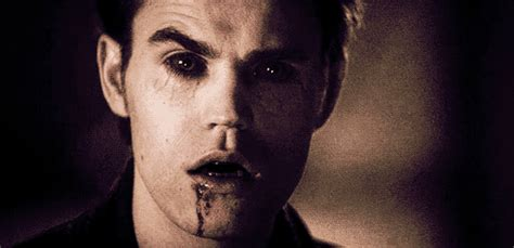 He's even cute as a vampire!   Stefan GIFs From The