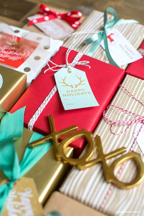 Printable Holiday Gift Labels & Tags By The Lia Griffith