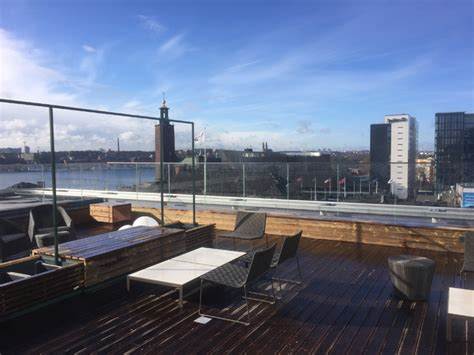Grand opening of the rooftop bar Capital at Scandic