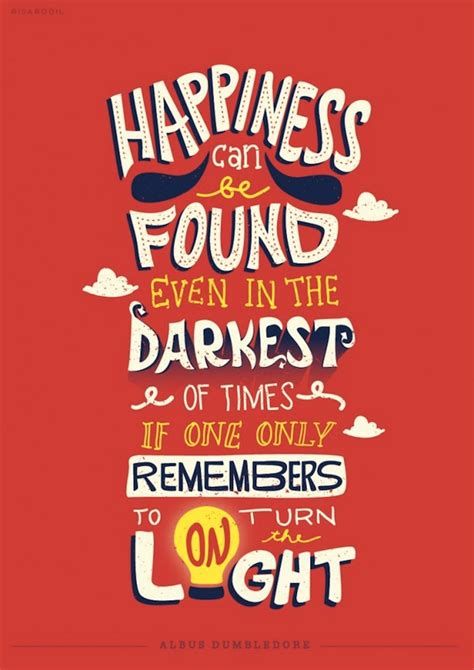 Eye-Catching Typographic Illustrations Of Memorable Quotes