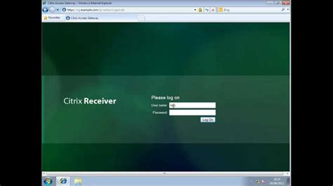 Citrix : Access Gateway and multiple web resources - YouTube