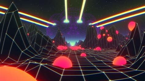 Psychedelic Trippy VJ Loop (4K) by motionsquared   VideoHive