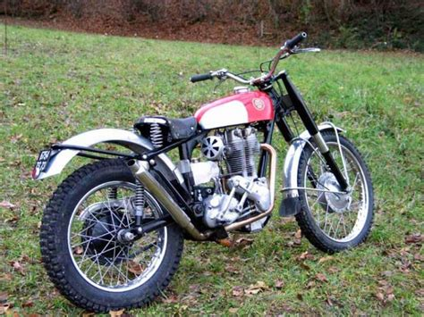 1957 Ariel HT3 Classic Motorcycle Pictures