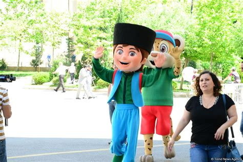 Mascots of 15th Summer European Youth Olympic Festival
