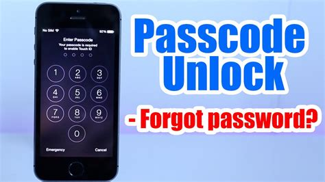 How To Unlock iPhone/iPad/iPod Passcode Without Restore