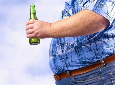 Drinking Alcohol Associated with Obesity